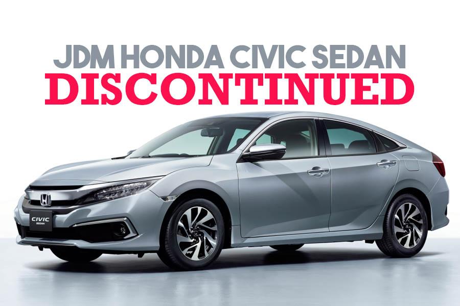 Honda Civic Sedan Discontinued in Japan 5