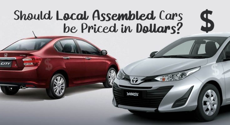 Should Local Assembled Cars be Priced in Dollars? 1