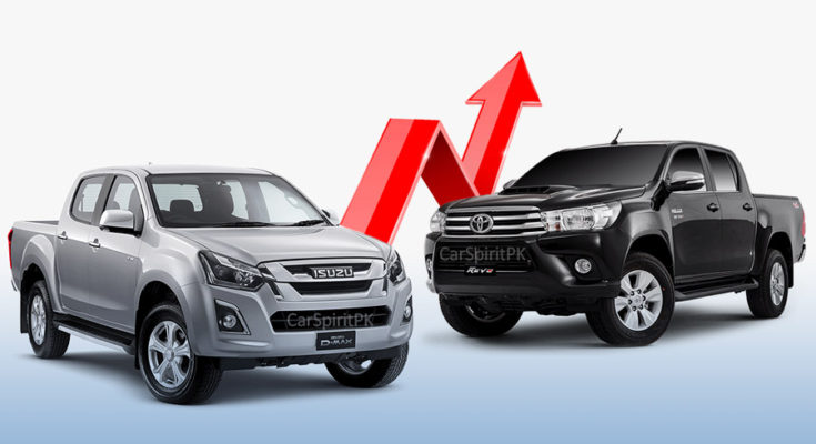 Toyota Hilux Revo and Isuzu D-MAX Prices to Increase Under Budget 2020-21 1
