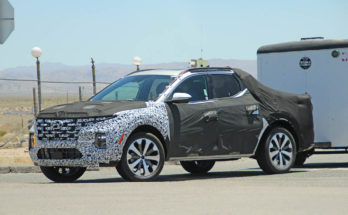 Latest Spy Shots Shows Hyundai Santa Cruz Practicality 7