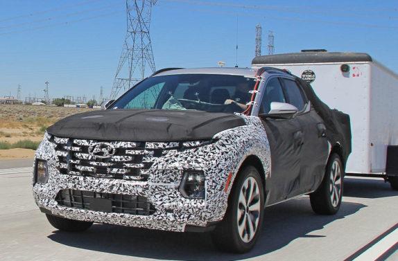 Latest Spy Shots Shows Hyundai Santa Cruz Practicality 5