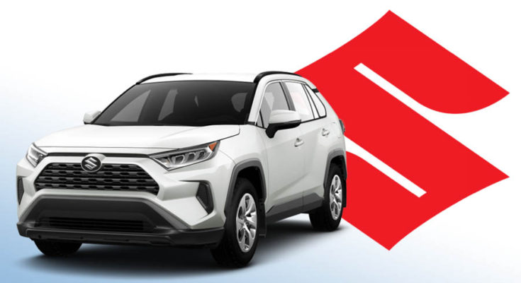 Toyota Starts Making RAV4 for Suzuki 1