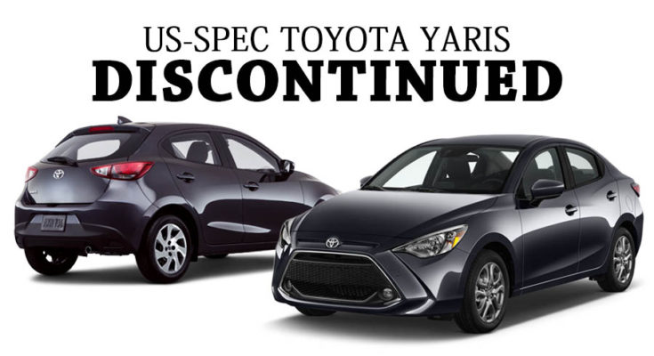 Toyota Discontinues Yaris Lineup in USA 1