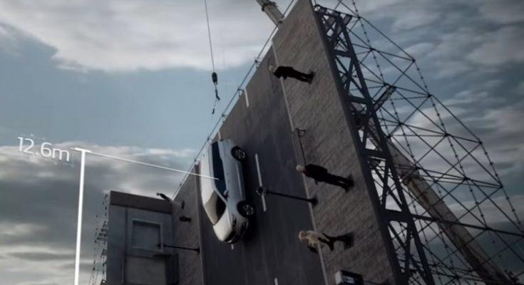Kia Carnival's Impressive Vertical Crash Test 1