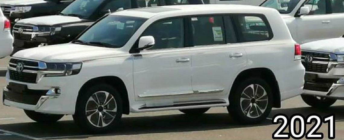 2021 Toyota Land Cruiser Facelift Spied In Japan 2