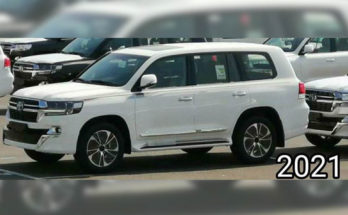 2021 Toyota Land Cruiser Facelift Spied In Japan 9
