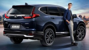Honda CR-V Facelift Launched in Thailand 3