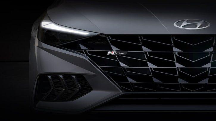 2021 Hyundai Elantra N Line Teased 5