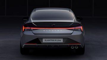2021 Hyundai Elantra N Line Teased 4
