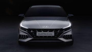 2021 Hyundai Elantra N Line Teased 3