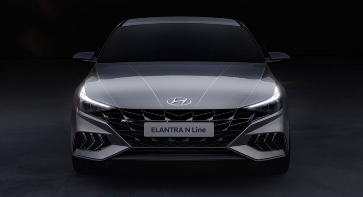 2021 Hyundai Elantra N Line Teased 1