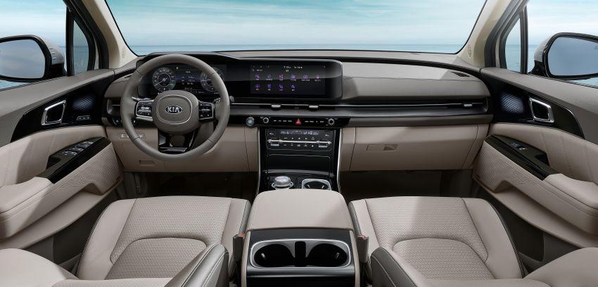 All new Kia Grand Carnival Interior Revealed 1