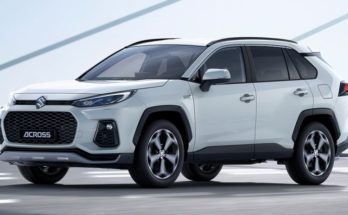 Toyota RAV4-Based Suzuki ACross Debuts 4