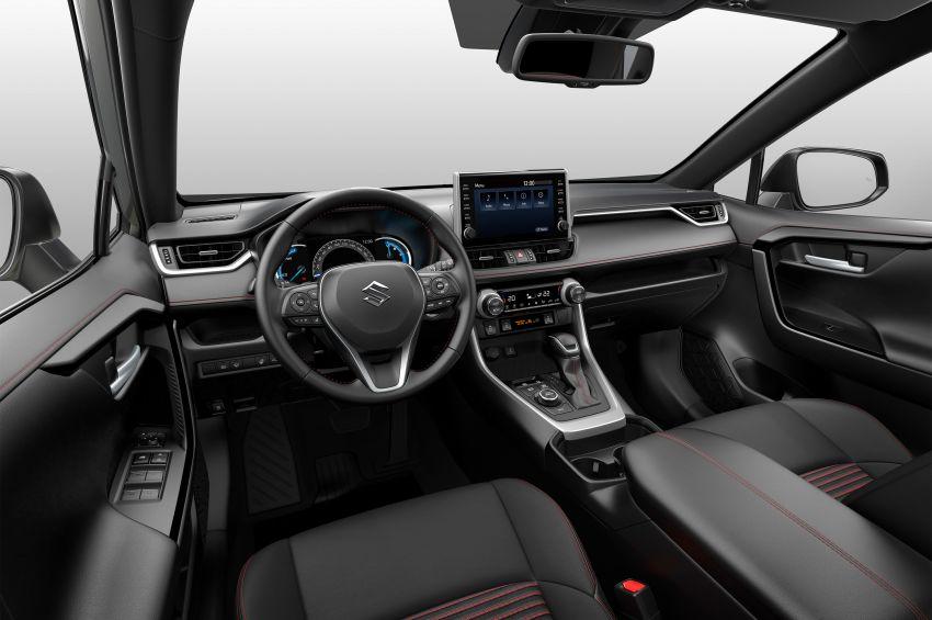 Toyota RAV4-Based Suzuki ACross Debuts 2
