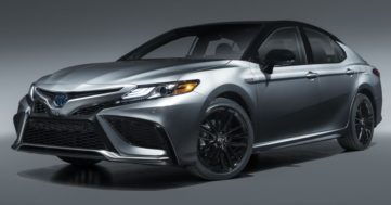 Toyota Camry Gets Facelift and Updated Features in USA 3