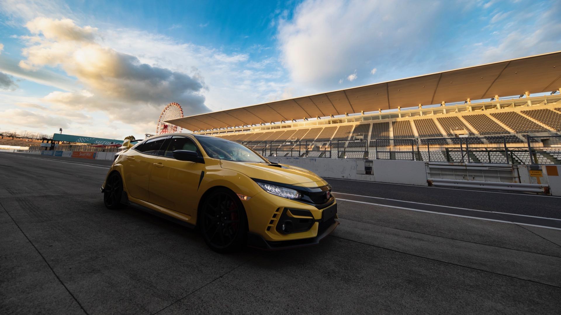 Final Edition Honda Civic Type R Sets FWD Lap Record 1