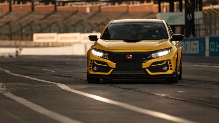 Final Edition Honda Civic Type R Sets FWD Lap Record 7