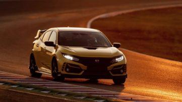 Final Edition Honda Civic Type R Sets FWD Lap Record 3