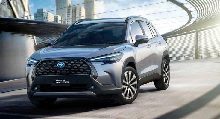 Toyota Corolla Cross Debuts in Thailand 1