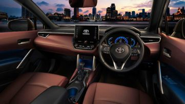 Toyota Corolla Cross Debuts in Thailand 5