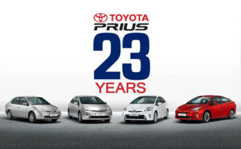 23 years of Toyota Prius 7