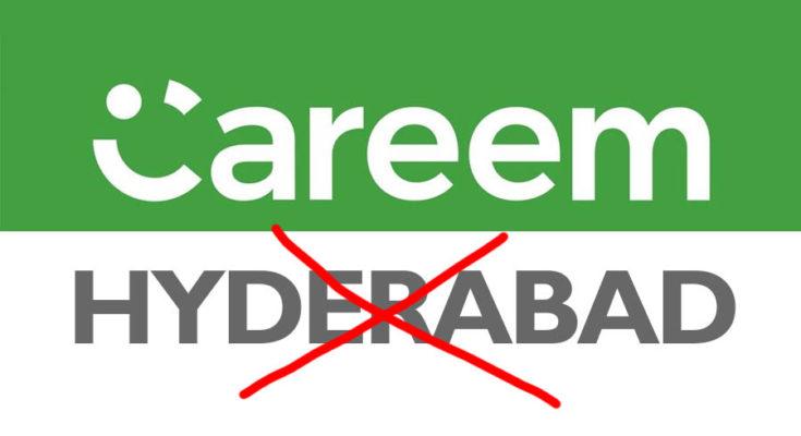 Careem Shutdown Operations in Hyderabad 1
