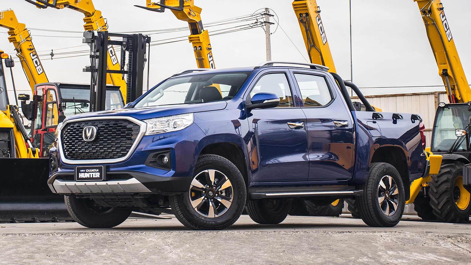 Changan Begins Exporting Hunter Pickup 1
