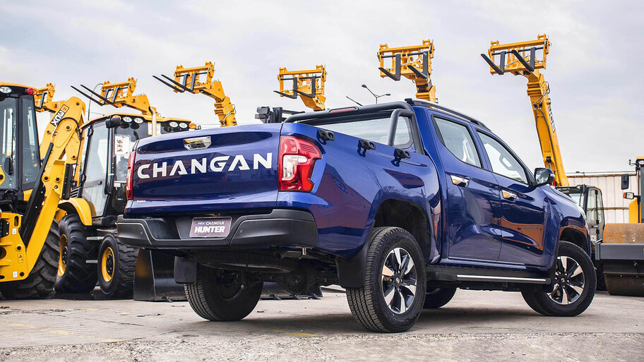 Changan Begins Exporting Hunter Pickup 2
