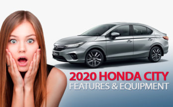 2020 Honda City's Rich Features & Equipment 4