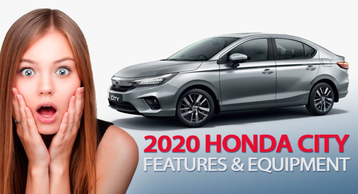 2020 Honda City's Rich Features & Equipment 1