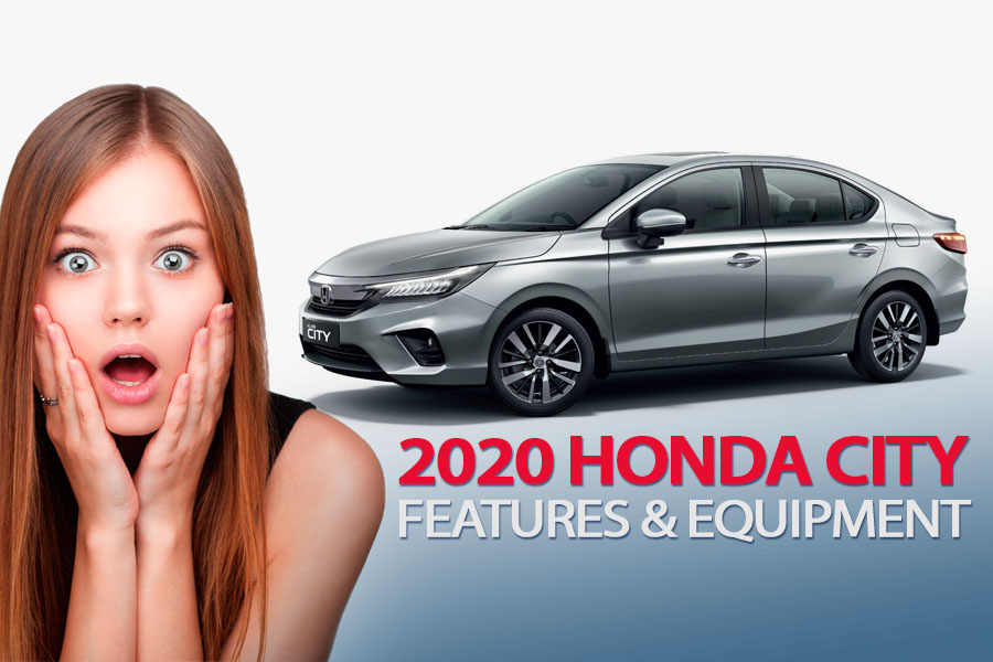 2020 Honda City's Rich Features & Equipment 1