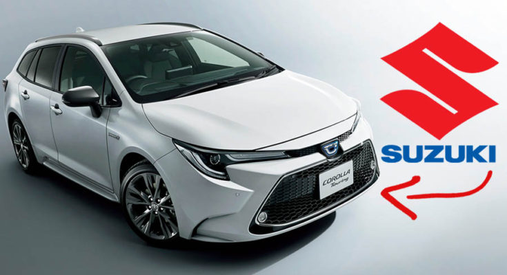 Corolla Touring to be the Next Toyota Car to Become a Suzuki 1