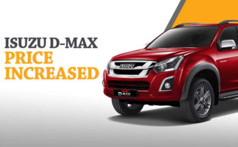Isuzu D-MAX 4x4 Prices Increased 5