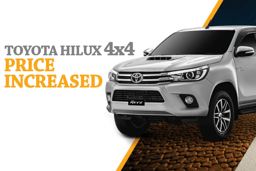 Toyota Hilux 4x4 Prices Increased 4