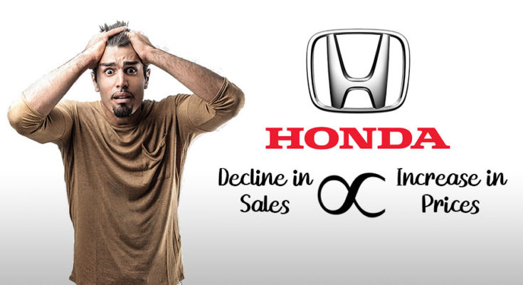 Honda Car Prices Again Increased by Up to Rs 100,000 1