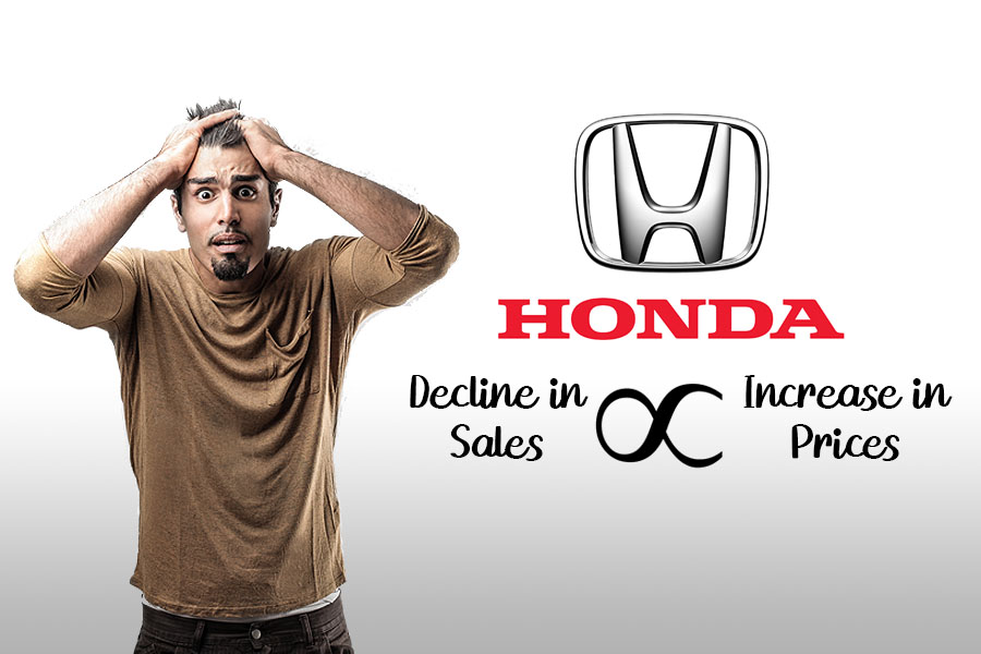 Honda Car Prices Again Increased by Up to Rs 100,000 5