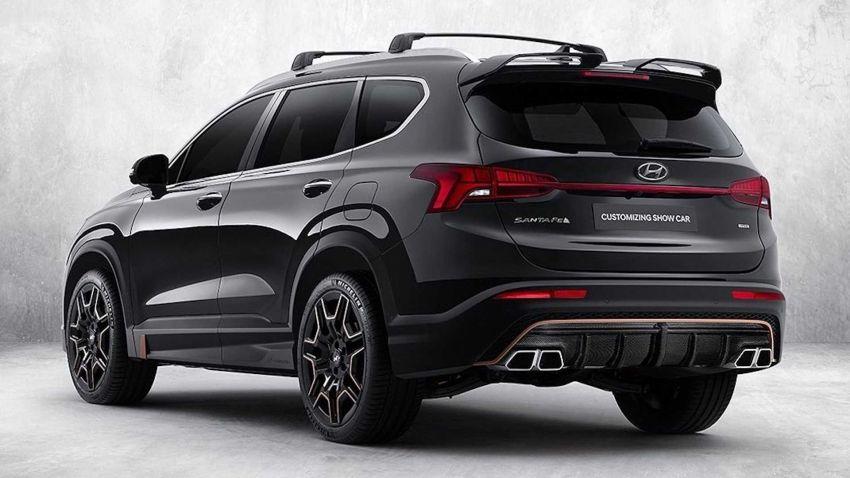 2021 Hyundai Santa Fe Gets N Performance Upgrades 3