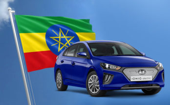 First Ethiopian Assembled Hyundai Ioniq EV Rolls off the Assembly Lines 5