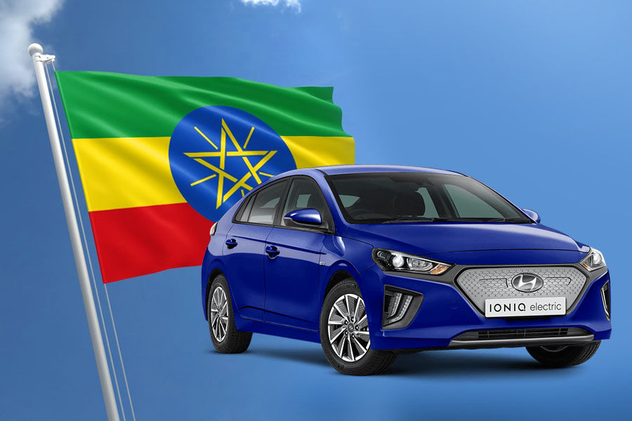 First Ethiopian Assembled Hyundai Ioniq EV Rolls off the Assembly Lines 4