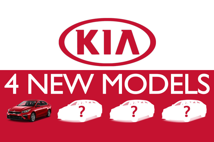 Kia to Launch 4 New Models by 2021 3