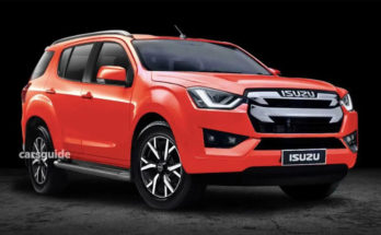 Next Gen Isuzu MU-X Rendered 2