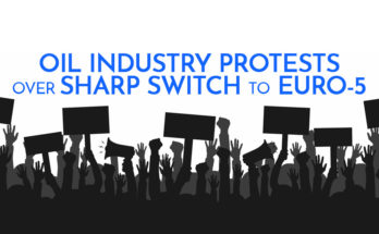 Oil Industry Protests over Sharp Switch to Euro-5 6