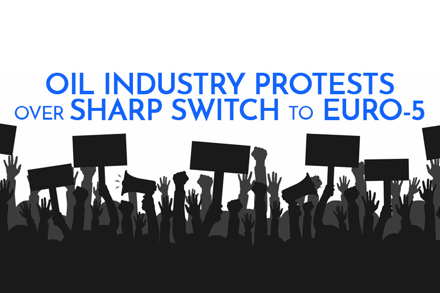Oil Industry Protests over Sharp Switch to Euro-5 3