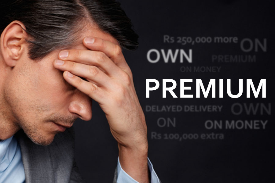 Hefty Premium Despite Cars Sales Down by 53% 4