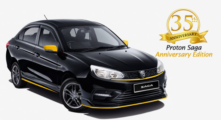 Proton Celebrates 35 Years of Saga with Special Anniversary Edition 1