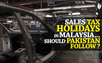 Sales Tax Holidays in Malaysia- Can Pakistan Follow Footsteps? 9