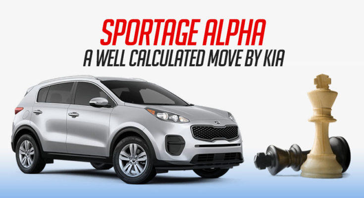 Sportage Alpha- A Calculated Move by KIA 1