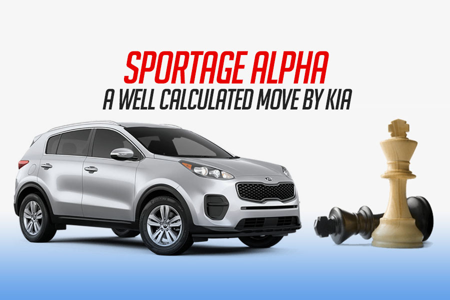 Sportage Alpha- A Calculated Move by KIA 5