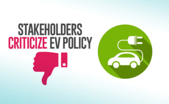 Stakeholders Criticize EV Policy 15
