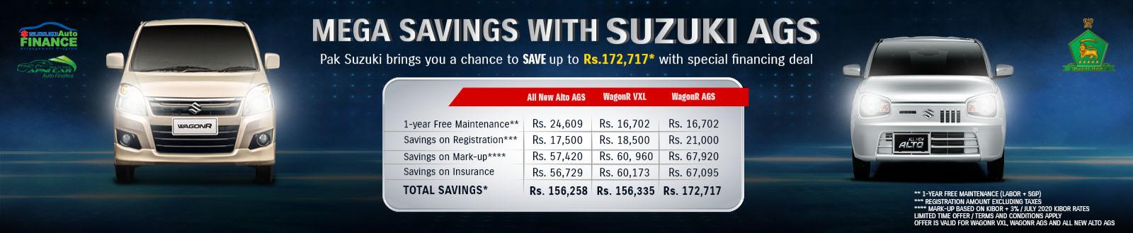 Pak Suzuki Offering 1 Year Free Maintenance on Selected Models 1